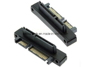 SATA (15+7) M/F R/a Adapter pictures & photos