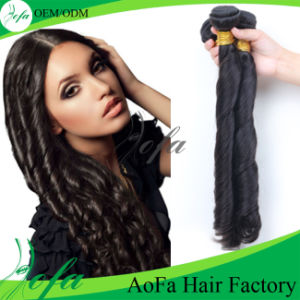 Spring Curly Brazilian Remy Human Hair Weft pictures & photos