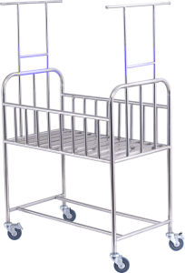 Stainless Steel Baby Bed for Medical pictures & photos