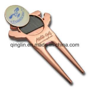 Custom Antique Copper Golf Repair Divot Tool for Golf Club pictures & photos