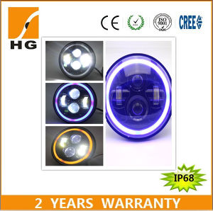 Halo Ring Angel Eyes LED Headlight Driving Light pictures & photos