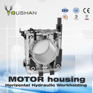 Motor Housing Horizontal Machining Center Hydraulic Workholding