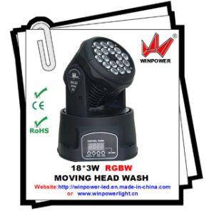 LED 18*3W Wash Moving Head Light