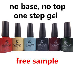 Ibn Cheap Price 3 in 1 Gel Polish Without Base Coat and Top Coat pictures & photos