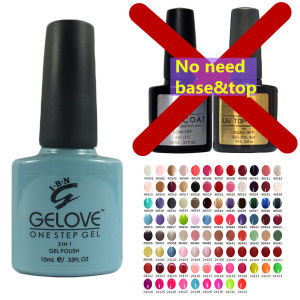 Ibn High Glossy No Base Coat No Top Coat Gel Polish pictures & photos