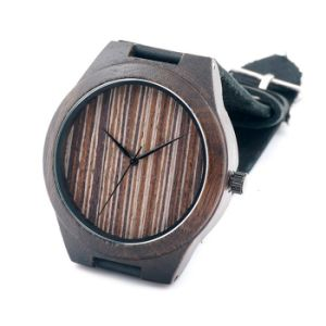 New Environmental Protection Japan Movement Wooden Fashion Watch Bg452 pictures & photos