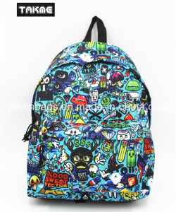 Carton Monster Printing School Bag for Teenagers (600D, high density) pictures & photos