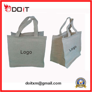 Custom Made 100% Cotton Canvas Tot Shopping Bag pictures & photos
