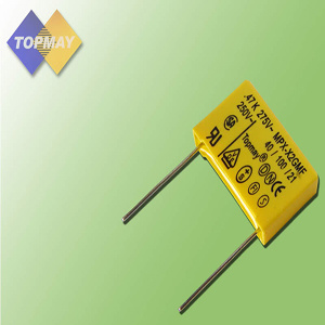 104 K275V Metallized Polypropylene Film X2 Capacitor (TMCF18) pictures & photos