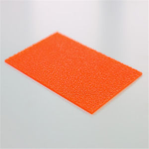 High Quality Red Embossed Polycarbonate Sheet for Decoration pictures & photos