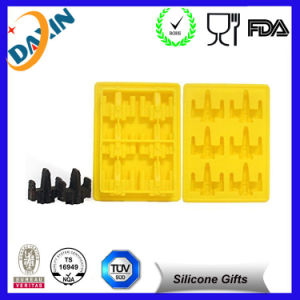 Brain Shape Custom Ball Shape Silicone Ice Cube Tray pictures & photos