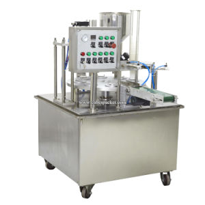 Rotary Type Automatic Ice Cream Rotary Cup Filling Machine pictures & photos