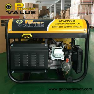 2000W 2kw 50Hz 220V Gx160 Engine Portable Petrol Electric Generator pictures & photos