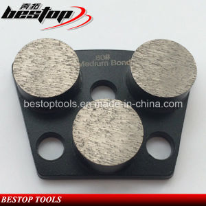80# Medium Bond Diamond Grinding Segment for Concrete Plate pictures & photos