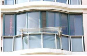 Energy Saving Double Plastic Sliding Glass Window pictures & photos