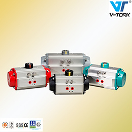 Single Acting Double Acting Pneumatic Actuator for Valves pictures & photos