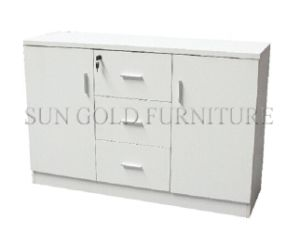 Modern Cheap Melamine Home Office Wood Filing Wall Cabinet (SZ-FC069) pictures & photos