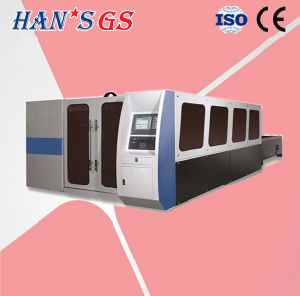 New Fiber Stainless Steel CO2/Fiber Laser Cutting Machine (GS-LFD3015) pictures & photos