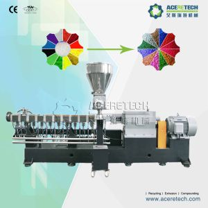 Twin Screw Color Masterbatch Compounding Pelletizing Extruder pictures & photos