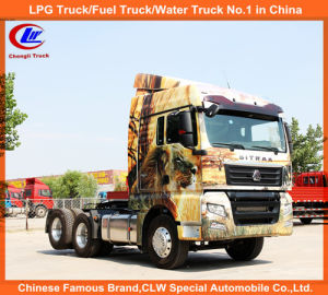 Heavy Duty Sinotruk Sino Truck HOWO 371HP Tractor Trucks 30tons for Pulling Trailer Use pictures & photos