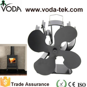 4 Blade Eco Wood Burner Stove Fan with Black (Model: VDSF624B) pictures & photos
