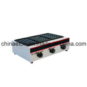 Luxury 3-Head Gas Fish Pellet Grill (ET-EH-877) pictures & photos