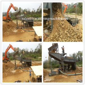 Placer Gold Processing Screen, Gold Processing Plant pictures & photos