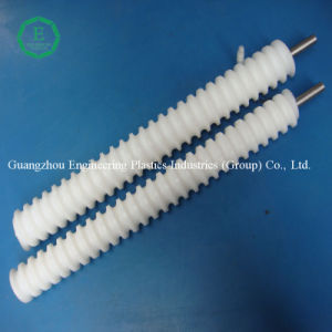 UHMWPE Screw Rod White Color Plastic Screw pictures & photos