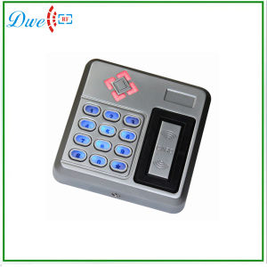 TCP/IP Mf 13.56MHz Backlight Keyboard Silver Color Wiegand 26 Output Format Smart RFID Reader pictures & photos