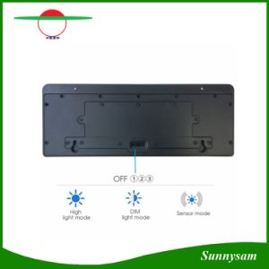 2016 New Design 44 LED Motion Sensor Garden Outdoor Solar LED Wall Light pictures & photos