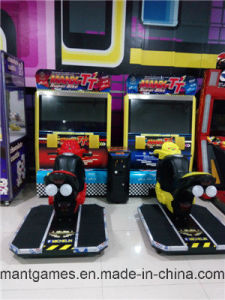 High Quality Racing Car Indoor Arcade Machine Tt Moto pictures & photos