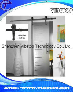 Wall Mounted Wooden Complete Sliding Door System Hardware pictures & photos