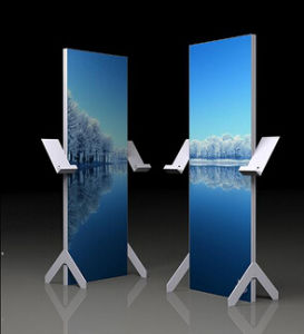 Aluminum Lightbox Frame Exhibition Display Stand with Fabric Graphic (GC-DF) pictures & photos