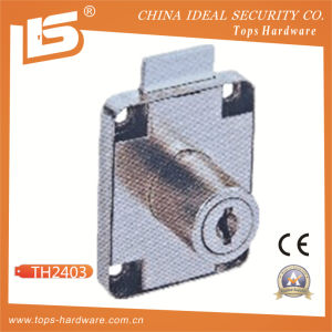 Furniture Security 138 Brass Key Iron Drawer Lock (TH2403) pictures & photos