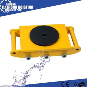 Hand Cranking Machinery Skates, Nylon Wheels Machine Moving Skates