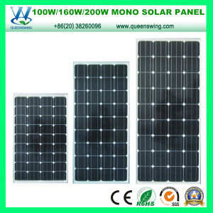 300W PV Solar Cells Mono Crystalline Silicon Solar Panel (QW-M300W) pictures & photos