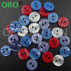 Coat Button 4 Holes Sewing Plastic Resin Buttons