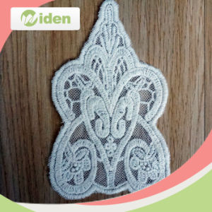 Okeo Approval Butterfly Pattern Lace Fabric Floral Embroidery Patch pictures & photos