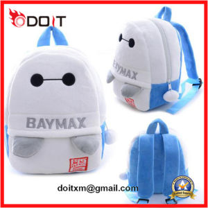 Carton Design Plush Baymax School Bag for Students pictures & photos