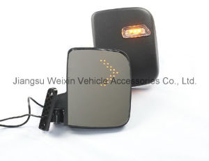 High Quality Golf Cart Side Mirror with LED Turn Signal pictures & photos