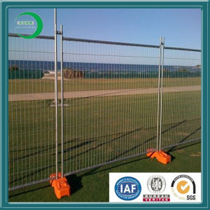 Hot Sale Recycled Plastic Blocks Used in Australia Temporary Welded Wire Mesh Fence pictures & photos