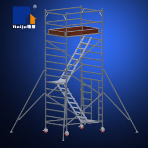 Double Width Scaffolding with Stair Case pictures & photos