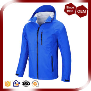 Men New Collection Welded Pockets Waterproof Outdoor Jacket pictures & photos