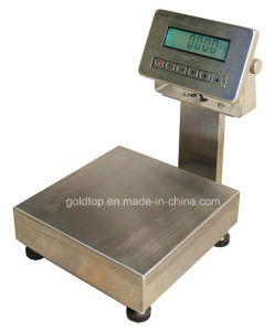 Digital Weighing Electronic Full Stainless Steel Waterproof Scales (WT-CW300)