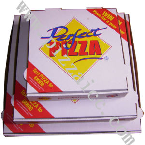 Locking Corners Pizza Box for Stability and Durability (CCB057) pictures & photos