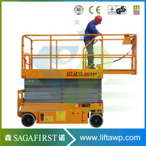 Full Electric Hydraulic Aerial Lift Table 6m 8m 10m Self Propelled pictures & photos