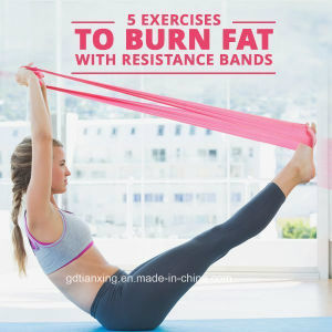Medium Thera Band Hot Sells Yoga Resistance Band, Durable Resistance Band pictures & photos