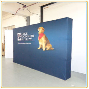 Outdoor Advertising Folding Pop up Banner Stand (10FT Straight) pictures & photos