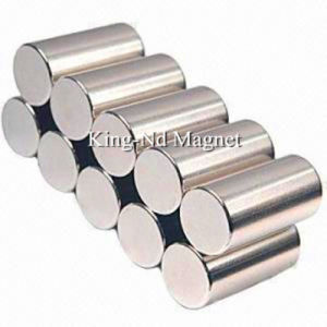 Rare Earth Permanent Neodymium Cylinder Magnet with RoHS (N38) pictures & photos