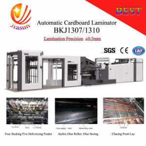 Bkj1310 Automatic Cardboard to Cardboard Laminating Machine pictures & photos